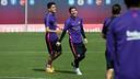 Bartra et Messi, à l'entrainement / MIGUEL RUIZ-FCB