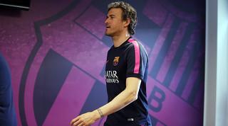 Luis Enrique pleads for packed Camp Nou