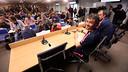Luis Enrique avant la conférence de presse / Miguel Ruiz FCB