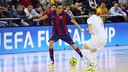 Aicardo, en un partido de la UEFA Futsal Cup esta temporada / MIGUEL RUIZ-FCB