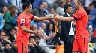 Xavi arriba als 500 partits de Lliga