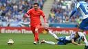 Lionel Messi is the all-time leading scorer in Barça–Espanyol derbies. / MIGUEL RUIZ - FCB