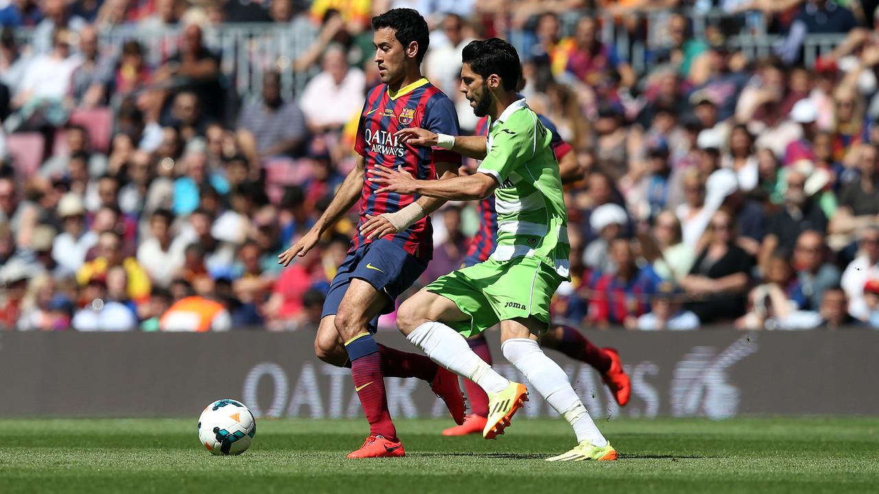 Sergio Busquets i Lafita, en el partit de la temporada passada al Camp Nou / MIGUEL RUIZ-FCB
