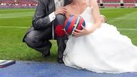 Casament al Camp Nou