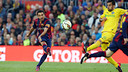 Xavi scored the fourth goal of the night against Getafe / MIGUEL RUIZ-FCB