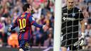 Messi, après son premier but face à Getafe / MIGUEL RUIZ - FCB