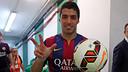 Luis Suarez a inscrit son premier but sous le maillot du Barça / MIGUEL RUIZ - FCB