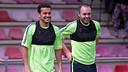 Pedro et Iniesta sont convoqués pour affronter le Bayern / MIGUEL RUIZ-FCB
