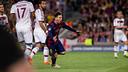 Messi célèbre son but contre le Bayern / GERMÁN PARGA-FCB
