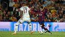 Messi, davant de Boateng / MIGUEL RUIZ-FCB