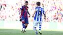 Neymar Jr. during the match against Real Sociedad / MIGUEL RUIZ - FCB