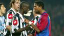 Kluivert i Thuram / MIGUEL RUIZ-FCB
