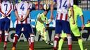 Messi rattles the woodwork at the Calderón / MIGUEL RUIZ-FCB