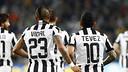 Vidal etTévez, avec la Juventus / juventus.com