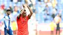 Xavi, face à l'Espanyol / MIGUEL RUIZ-FCB