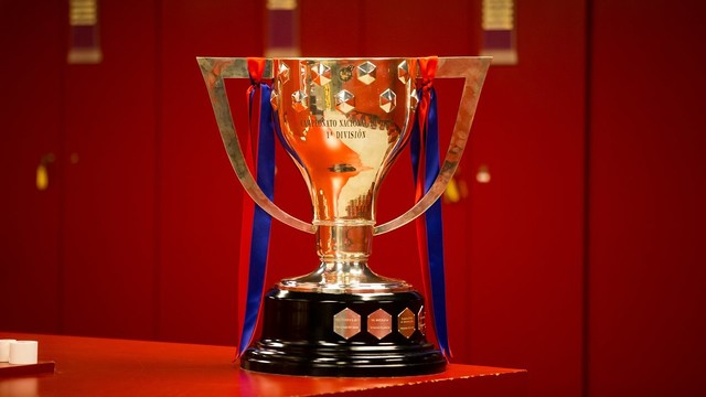 Barça will hoist the La Liga trophy for the 23rd time in Club history at Camp Nou on Saturday. / GERMÁN PARGA-FCB