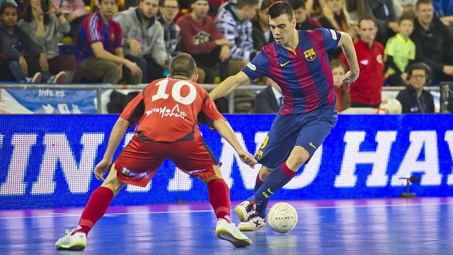 El Barça quiere sumar la primera victoria en las semis
