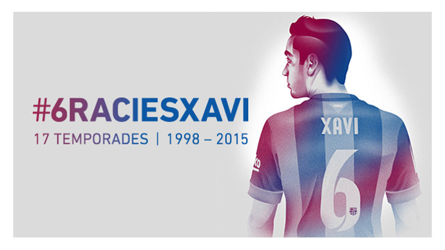 #6ràciesXavi: 24 years of unforgettable football