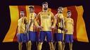 Maillot à l'extérieur du FC Barcelone pour la saison 2015/16  /NIKE