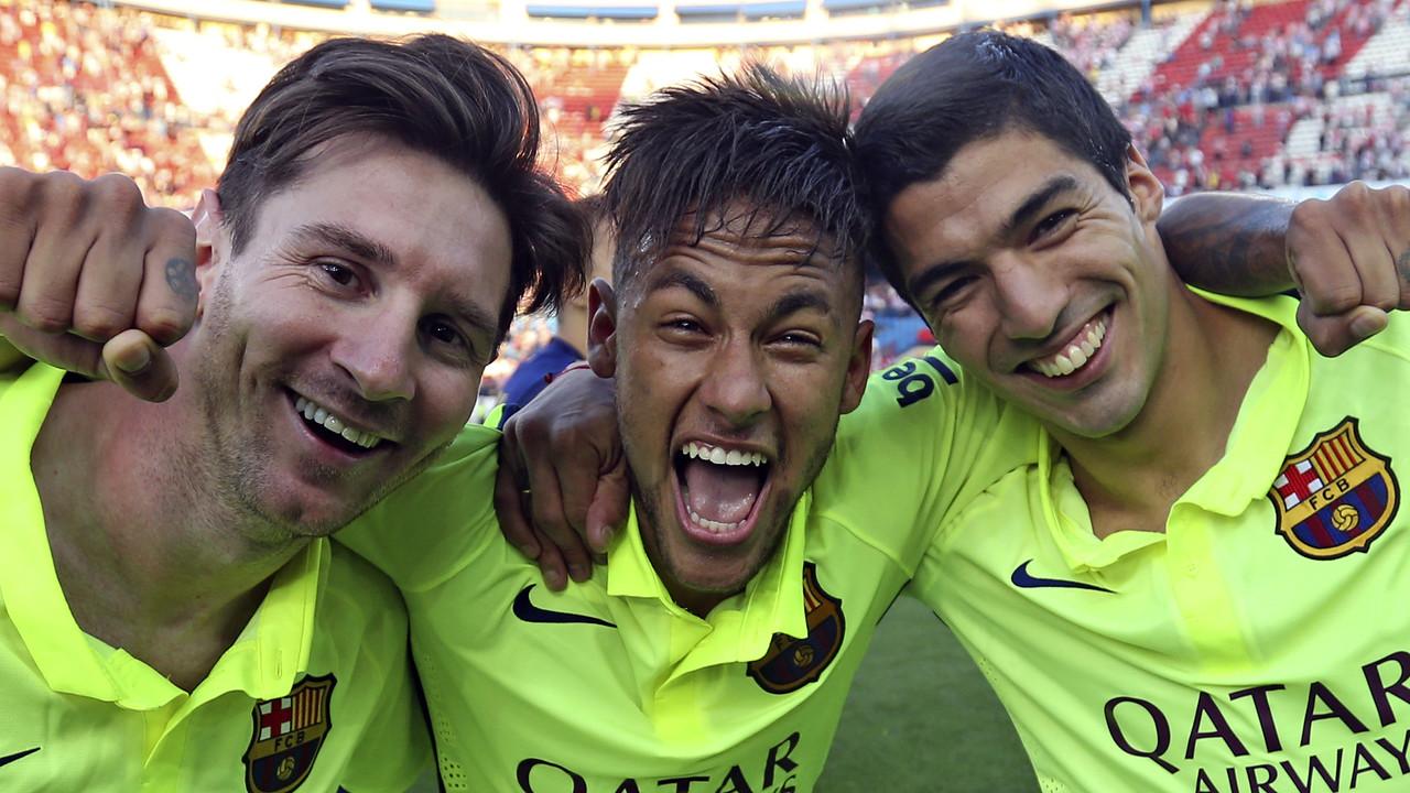 Messi, Neymar Jr i Suárez conformen el millor trident de les principals Lligues europees / MIGUEL RUIZ-FCB