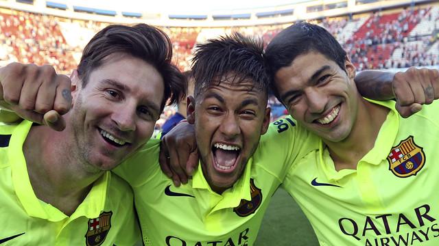 Messi + Neymar + Suárez = 680 millones de dólares