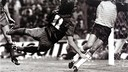 Marcos Alonso scores in the 1983 Spanish Cup Final / F. ZUERAS