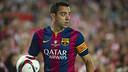 Xavi played his final career game at Camp Nou on Saturday night. / VÍCTOR SALGADO-FCB
