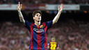 Leo Messi scores to guide Barça to a 27th Spanish Cup title / MIGUEL RUIZ - FCB