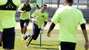 Players during training on Tuesday / MIGUEL RUIZ-FCB