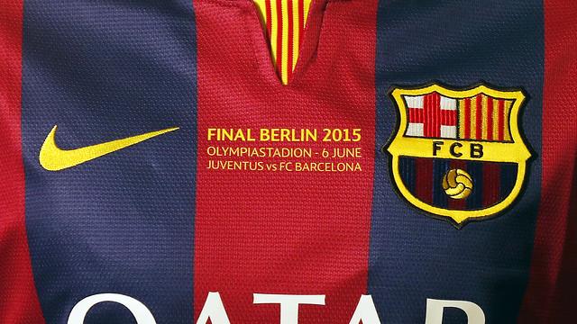 La camiseta Nike del FC Barcelona para la final de la Champions League