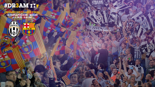See the 2014/15 UEFA Champions League statistics for FC Barcelona and Juventus. / FCB