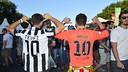 Aficionats de la Juventus i del Barça, a Berlín / CRISTINA GONZÁLEZ-FCB