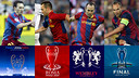 Paris, Rome, Wembley and Berlin: Iniesta has played in four UCL finals