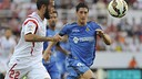 Aleix Vidal has just completed an impressive season with Sevilla / SEVILLA FC