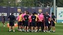 Image de l'entraînement du FC Barcelone 2014/15 / MIGUEL RUIZ-FCB
