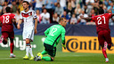 Marc-André ter Stegen and Germany were bounced out by Portugal. / UEFA.COM