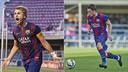 Patric y Joan Román acaban contrato con el FC Barcelona / FCB