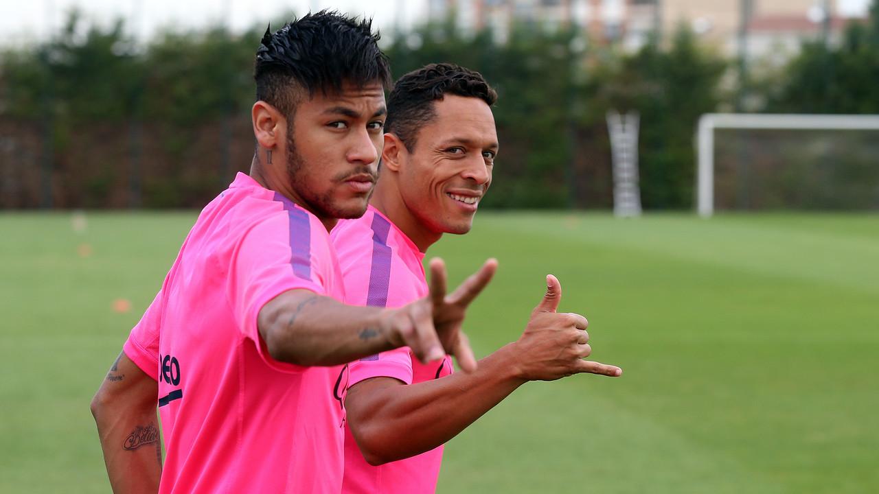Neymar Jr, durante un entrenamiento / MIGUEL RUIZ-FCB