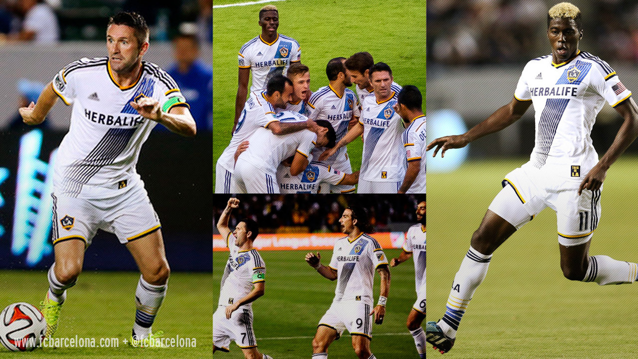 Los Angeles Galaxy, actual campeón de la MLS / FCB