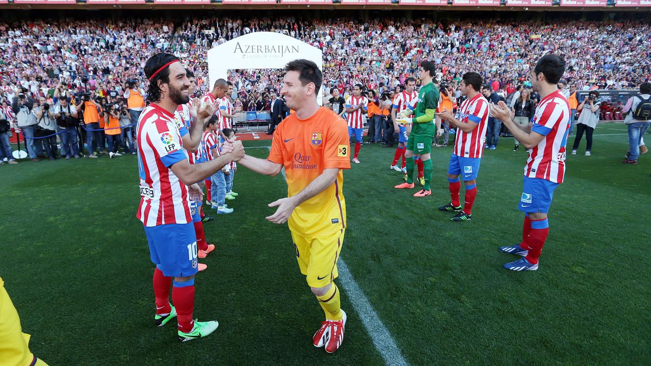 Arda Turan et Messi, en 2013 / MIGUEL RUIZ - FCB