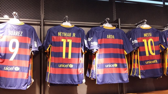 Arda stands out amongst his team mates/  FCB