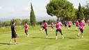 La plantilla del Barça B realizará parte de la pretemporada en Torremirona / ARCHIVO-FCB