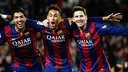 Suárez, Neymar Jr and Messi have all been shortlisted / MIGUEL RUIZ-FCB
