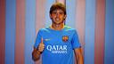 El excapitán del Juvenil A la pasada temporada, Quinti, firmó hoy su renovación / MIGUEL RUIZ-FCB