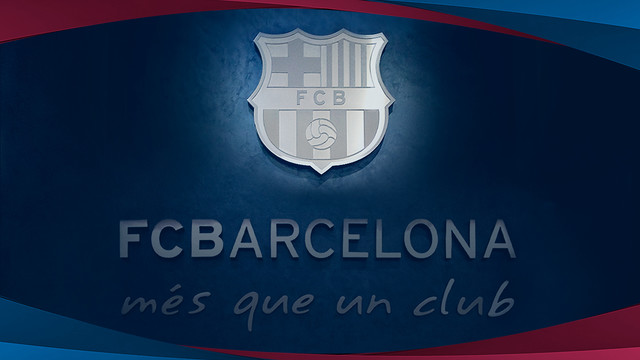 Corporate image of FC Barcelona / FCB