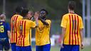 Ya son tres los amistosos confirmados del filial para esta pretemporada / VICTOR SALGADO-FCB