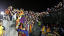 Iniesta after the game with Galaxy / MIGUEL RUIZ-FCB