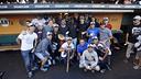Els jugadors s'han vestit amb els colors dels San Francisco Giants / MIGUEL RUIZ - FCB