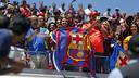Aficionats blaugranes al Levi's Stadium / MIGUEL RUIZ-FCB