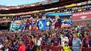 Le public du Barça au Washington / FCB